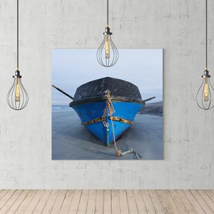 blue boat canvas